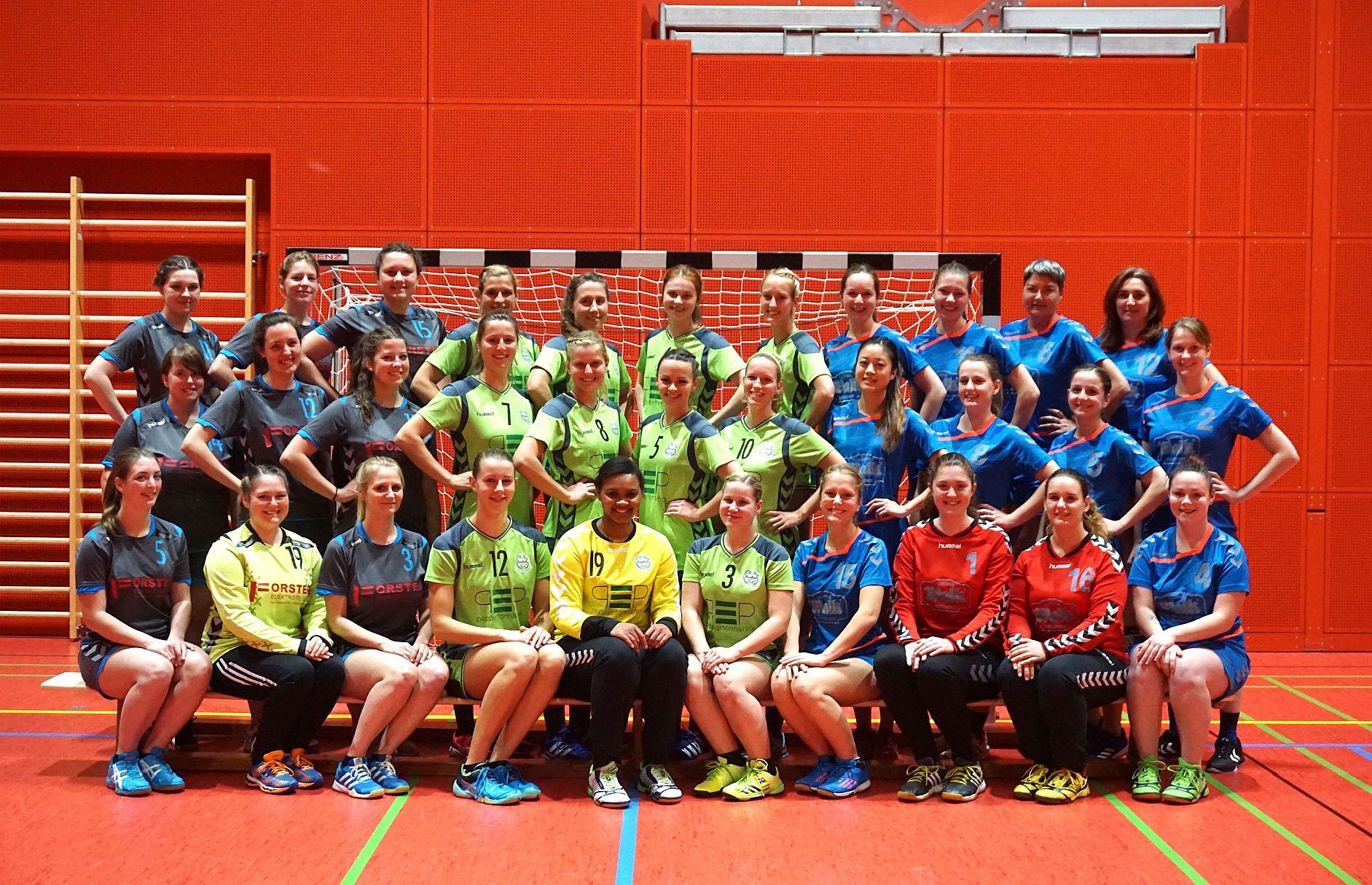 Die Damen-Teams für die Saison 2017/18